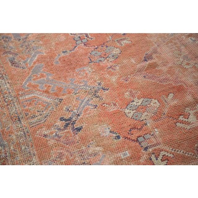 "Distressed Oushak Carpet - 5'4"" X 8' - Image 7 of 9"