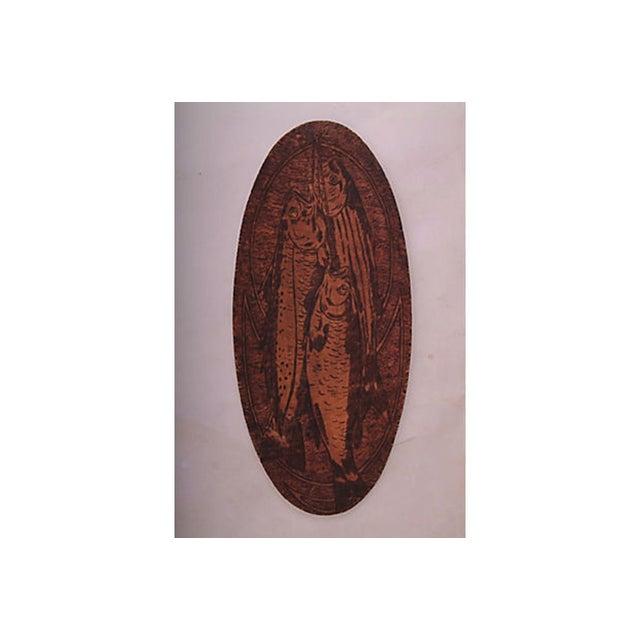 Flemish Art Fish Plaque - Image 2 of 4