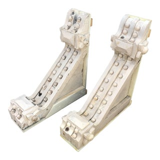 Victorian Corbel Brackets - a Pair For Sale