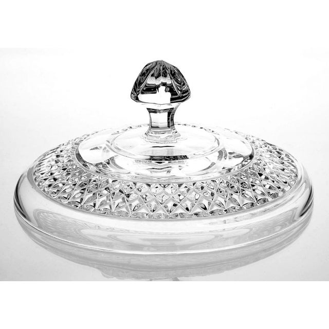 Waterford Crystal Waterford Crystal Centerpiece Bowl & Lid For Sale - Image 4 of 8