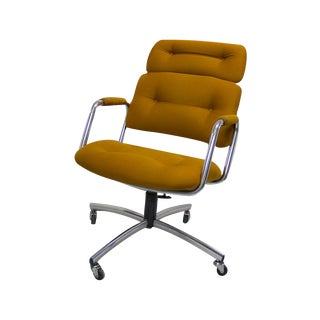 1960s High-Backed Steelcase Office Chair