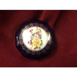 Jlmenau Echt Kobalt Porcelain Pin/Trinket Dish Preview