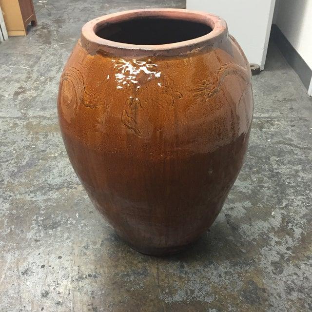 Large Glazed Finish Pottery - Image 4 of 9