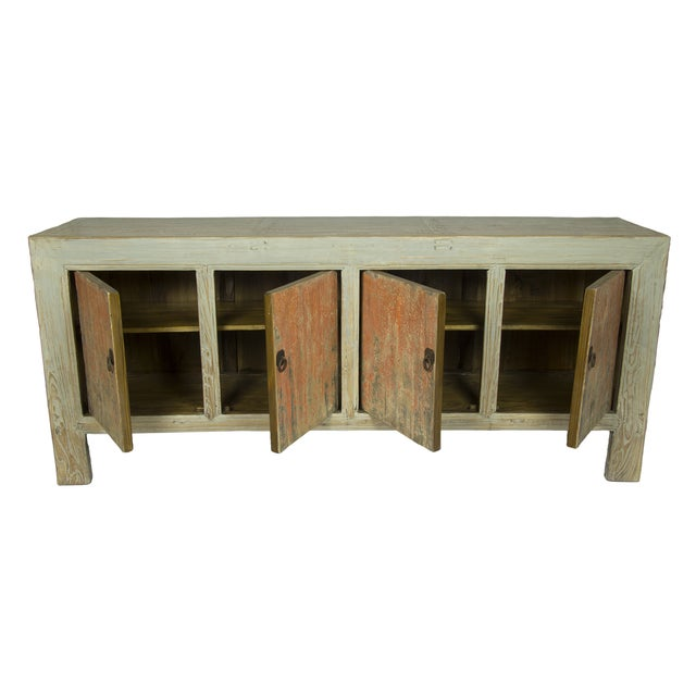 Distressed Chinese Sideboard - Image 2 of 3