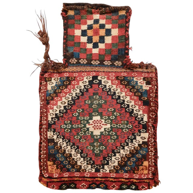 Luri Bakhtiari Mixed Technique Salt bag For Sale