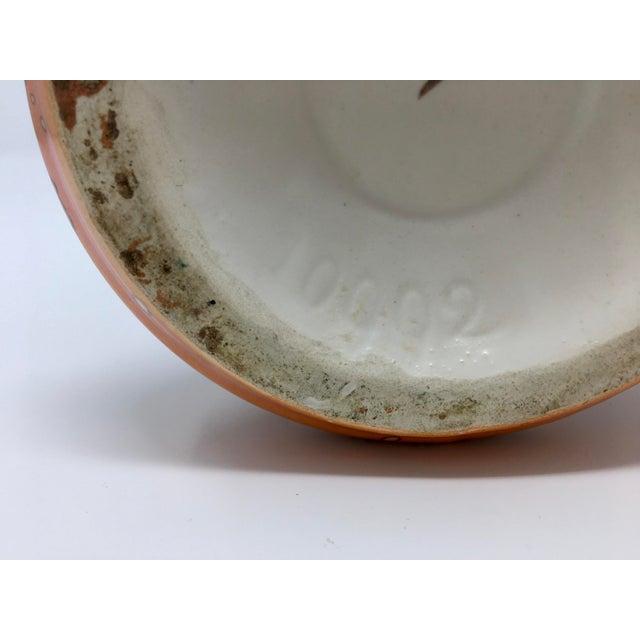 Brown 1920s Antique Art Deco Ditmar Urbach Czech Alienware Ceramic Vase For Sale - Image 8 of 10