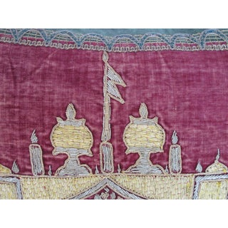Ottoman Era Embroidered Pillow by Mary Jane McCarty Preview