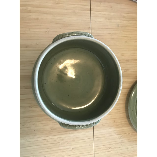 Studio Pottery Lidded Casserole Dish For Sale - Image 5 of 10