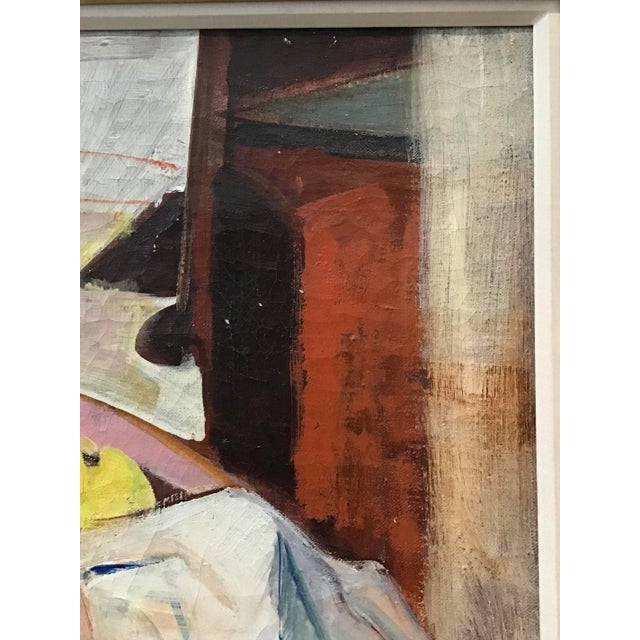 Paint Mid-Century Still Life Painting For Sale - Image 7 of 12