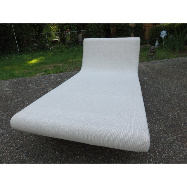 Vladimir Kagan-Style Sculptural Chaise Lounge - Image 10 of 10