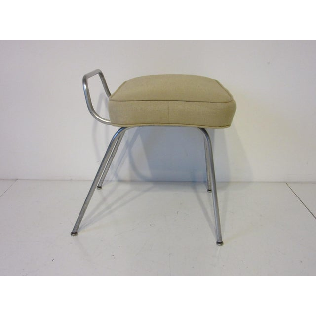 Mid-Century Modern George Nelson Vanity Stool for Herman Miller For Sale - Image 3 of 10