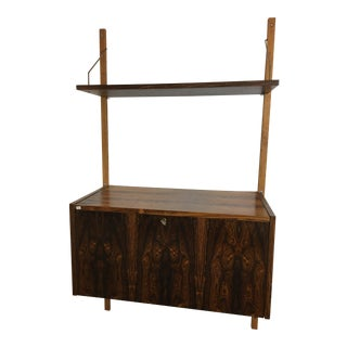 Danish Rosewood Hanging Shelf by Randers Ps Systems For Sale