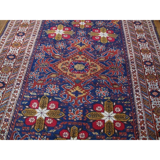 Primitive Daghestan or Shirvan Rug For Sale - Image 3 of 10