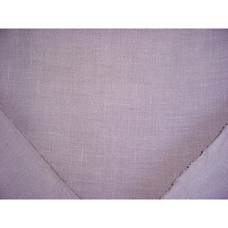 3-1/2y Ralph Lauren Lcf67096f Laundered Linen Stone Gray Upholstery Fabric For Sale
