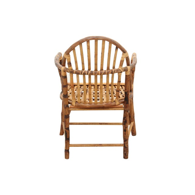 Windsor Style Bamboo Side Chair - Image 6 of 6