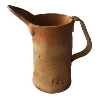 Pat Bowen Post Modern Abstract Imprinted Pitcher / Vase For Sale