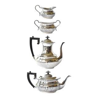 Antique Sheffield Tea & Coffee Service - Set of 4 For Sale