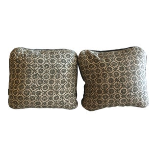 Victoria Hagan Jackson Slate Pillow Covers - a Pair For Sale