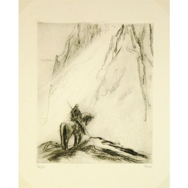 Original Etching Parsifal For Sale - Image 4 of 4