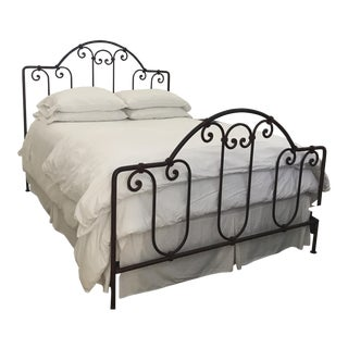 El Paso Imports Wrought Iron Queen Size Bed Frame