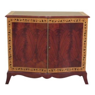 Traditional John Widdicomb Neoclassical 2 Door Mahogany Server Commode For Sale