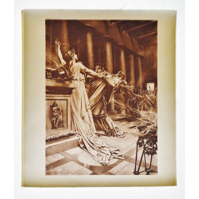 """""""Norma Act II Scene X"""" William De Leftwich Dodge Photogravure - Image 2 of 7"""