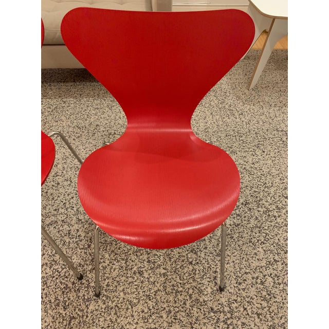 The Series 7 Chair (1955) debuted in Sweden at the Helsingborg exhibition of 1955, or H55. One of the most copied chairs...