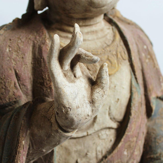 Sitting Quan Yin - Image 5 of 5