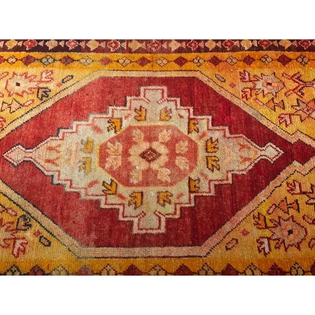 "Bellwether Rugs Vintage Turkish Oushak Area Rug - 3'8"" X 5'4"" - Image 4 of 11"