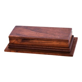Antique Decorative Rosewood Box For Sale