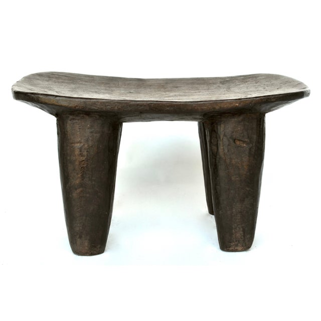 African Senufo Wood Stool For Sale - Image 4 of 7