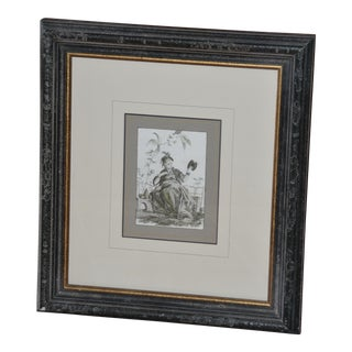 Vintage Mid-Century Soicher Marin for Williams-Sonoma Inc Fine Art Framed Print For Sale