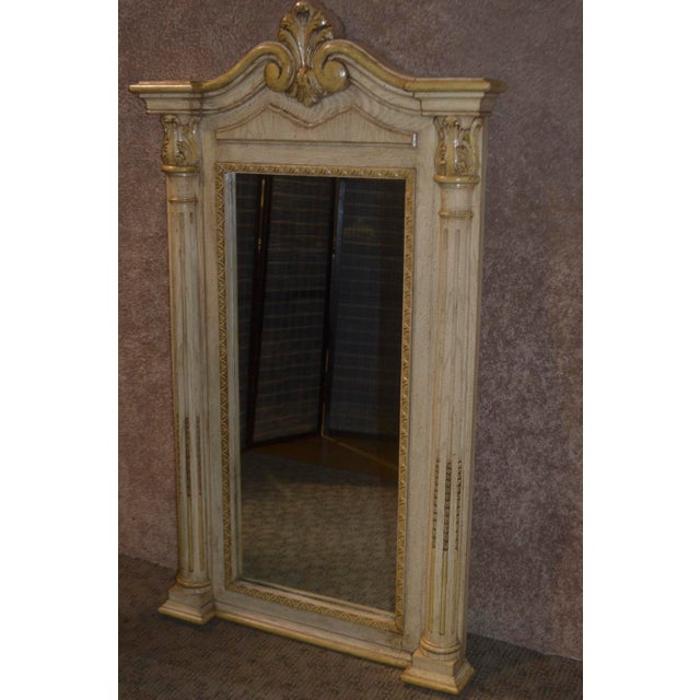 Neoclassical Cellini Furniture Neo-Classic Style Italian Wall Mirror For Sale - Image 3 of 13
