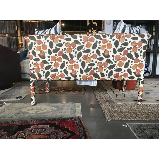 Highland House Kitty Kat Upholstered Bench For Sale - Image 4 of 6