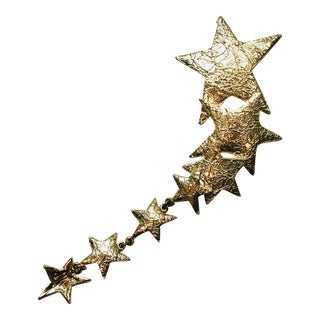 Ultra Craft Gold Shooting Star Pin For Sale