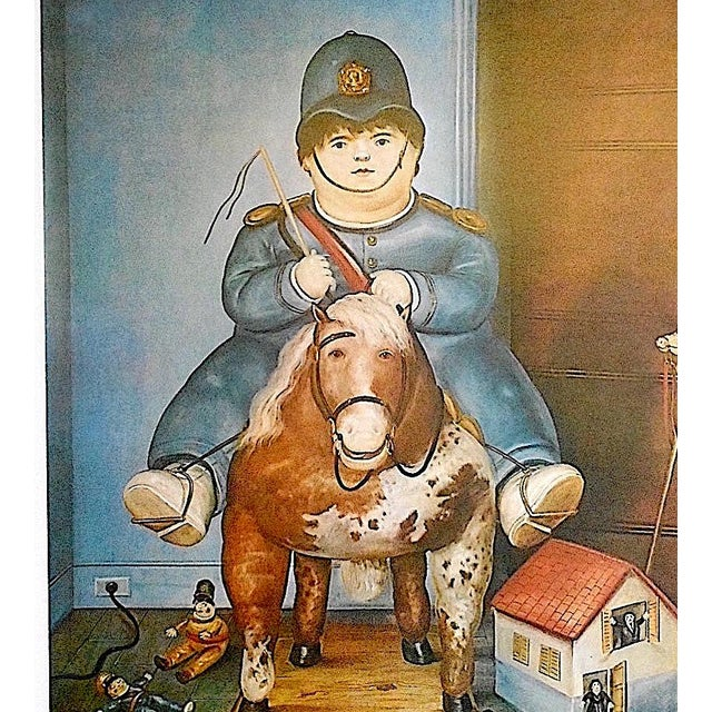 Vintage Poster Lithograph by Fernando Botero - Image 3 of 3