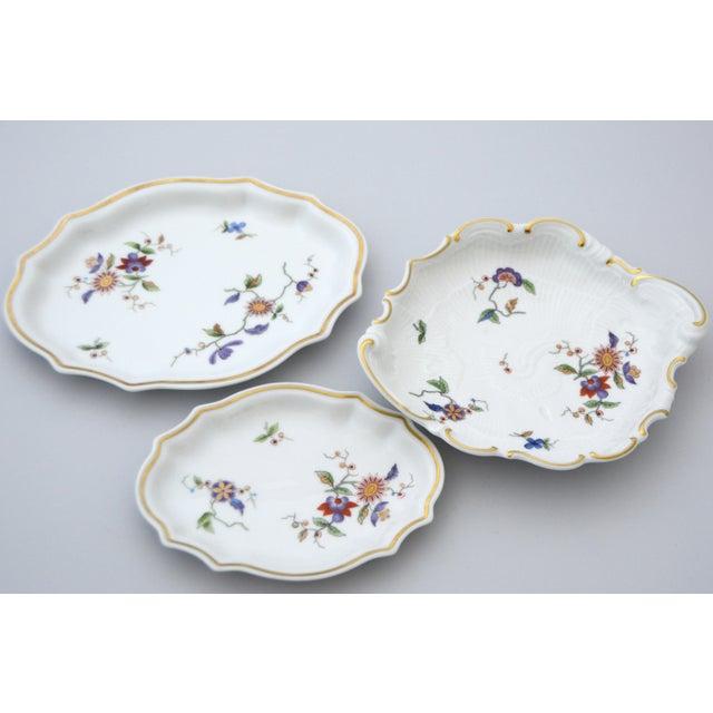 Metal Richard Ginori Oriente Italian Porcelain Relish Dish For Sale - Image 7 of 8