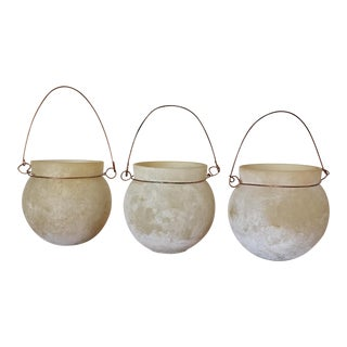 Anthropologie Votive Candle Holders - Set of 3