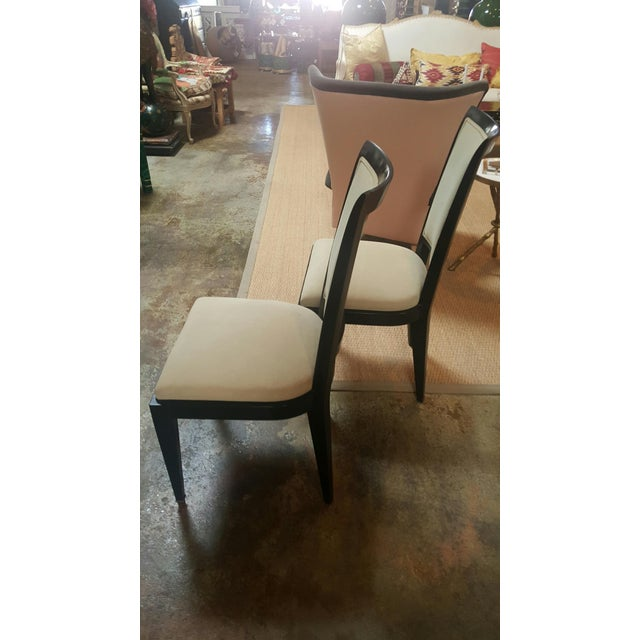 French Mid-Century French Chairs - a Pair For Sale - Image 3 of 4