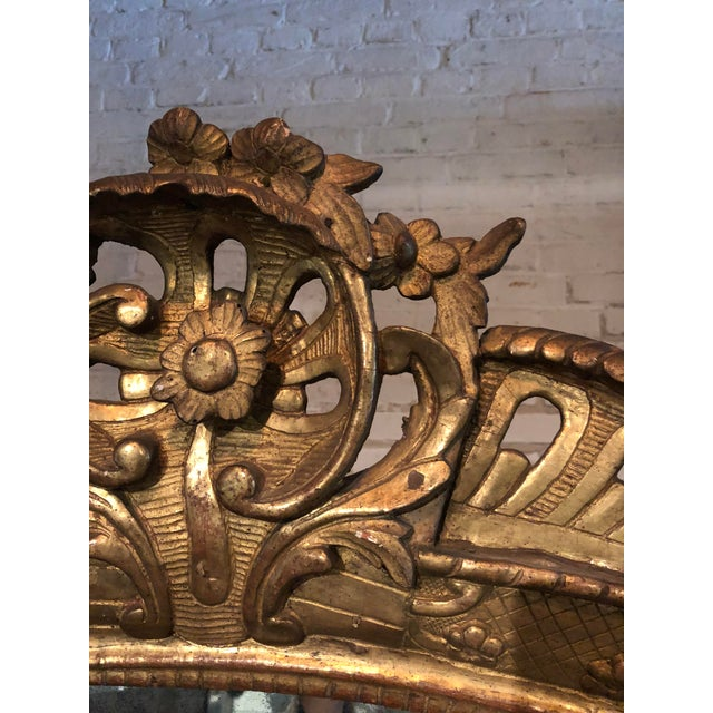 18th Century Mirror, Régence Giltwood For Sale - Image 11 of 12