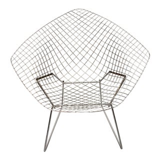 1970s Vintage Bertoia Diamond Chair For Sale