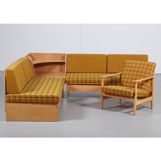 1970s 'Swan' Corner Sofa and Armchair - 2 Pc. Set For Sale - Image 10 of 10