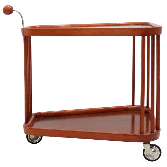 1960s Vintage Swedish Serving Cart For Sale