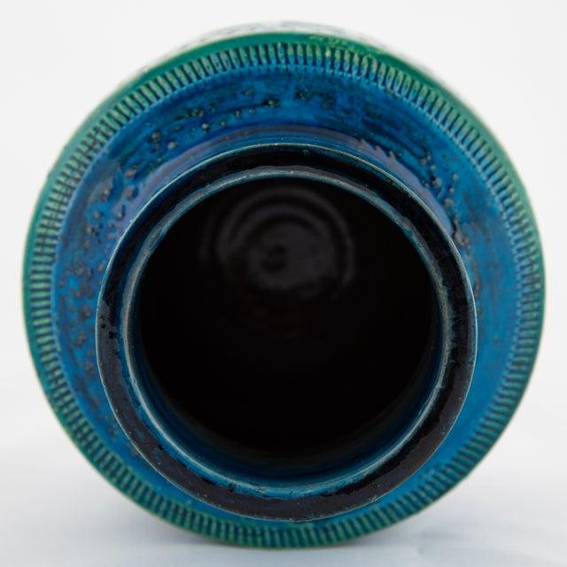 """Ceramic """"Rimini Blu"""" Ceramic Vase by Aldo Londi for Bitossi, Circa 1960s For Sale - Image 7 of 10"""