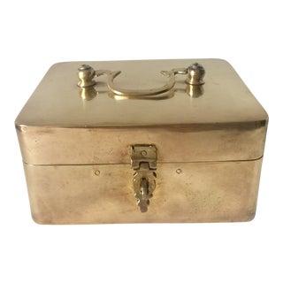 Brass Lidded Box