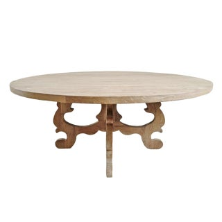 Round Salvaged Rotham Table For Sale