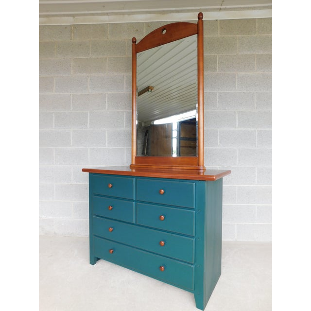 Thomasville Solitaire Collections Chest With Mirror For Sale - Image 12 of 12