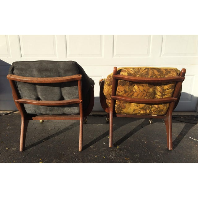 Sculptural Mid-Century Claw Chairs - A Pair - Image 4 of 10