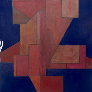 Picture of Something #5 Geometric Abstract Painting by Stephen Cimini For Sale