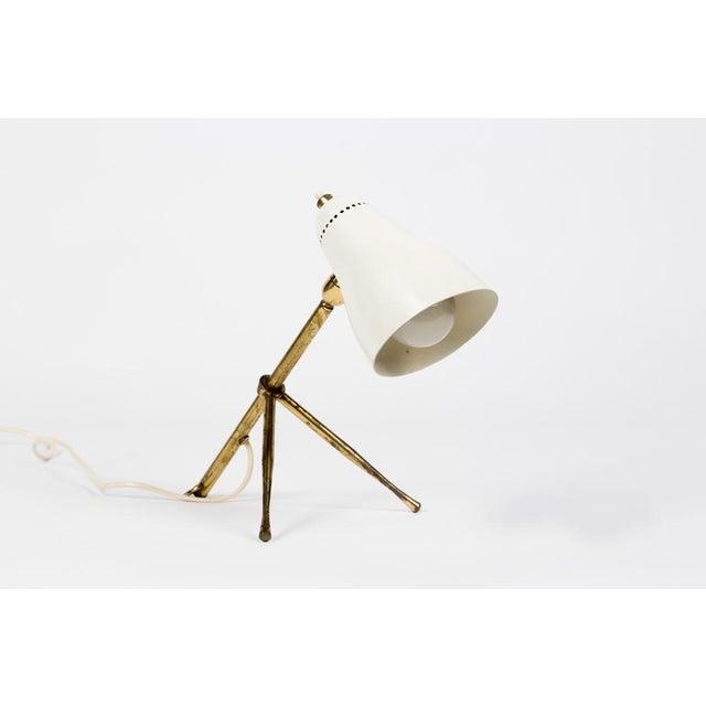 Mid-Century Modern 1950s Giuseppe Ostuni for Oluce Table or Desk Lamp For Sale - Image 3 of 12